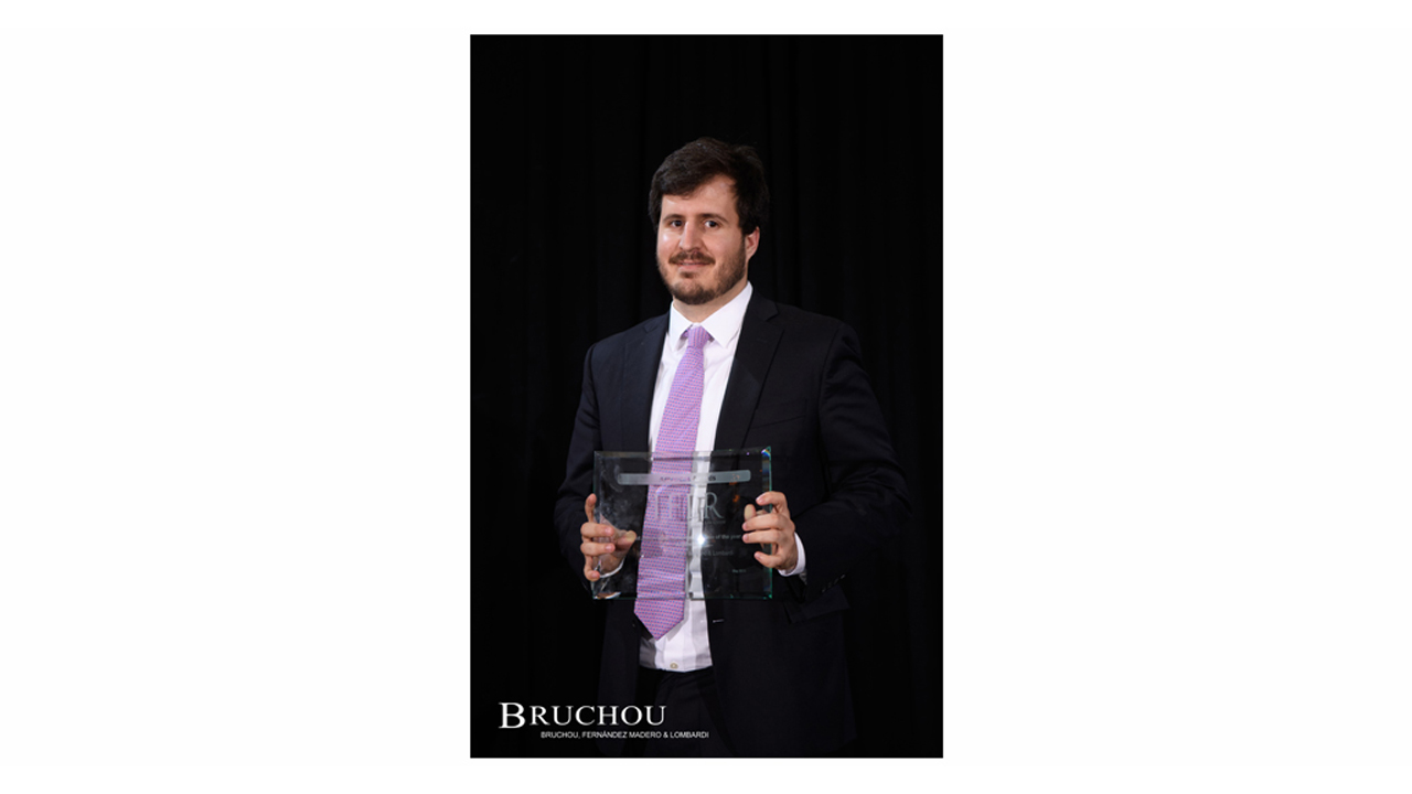 IFLR Grants most innovative firn of the year to BRUCHOU
