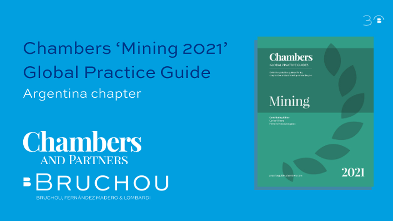 Chambers 'Mining 2021'  Global Practice Guide